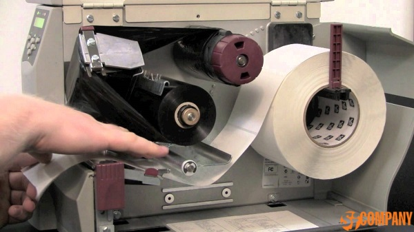 Причины прилипания красящей ленты (риббона) к этикеткам в принтере Zebra