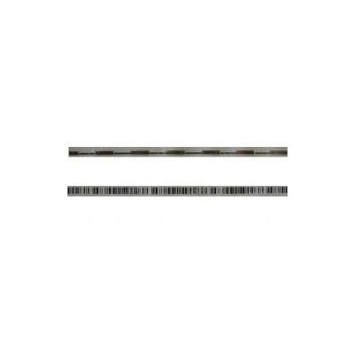 Этикетка прозрачная, деактивируемая с ложным штрих кодом 5 на 102 мм.