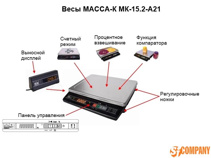 Весы МК 15.2 А21