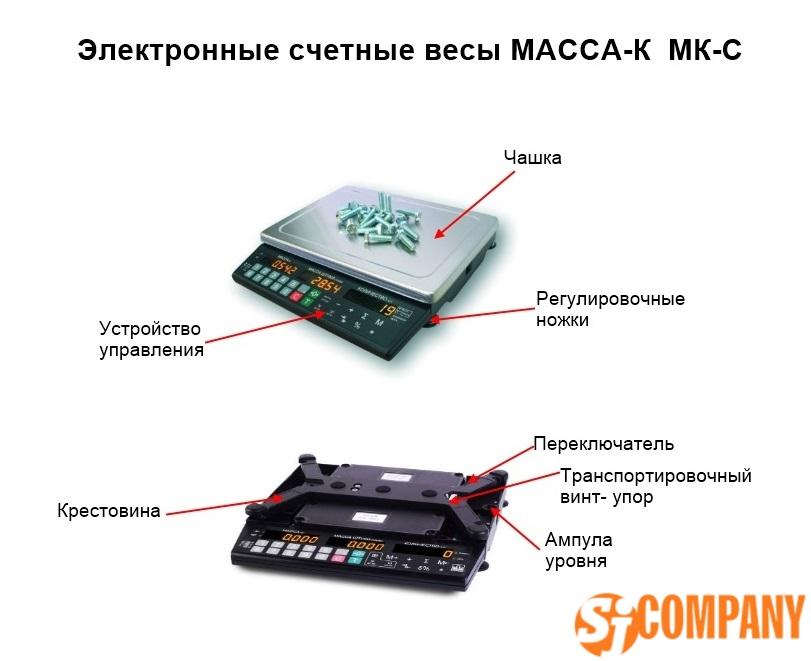 Электронные счетные весы МК-С от производителя МАССА–К