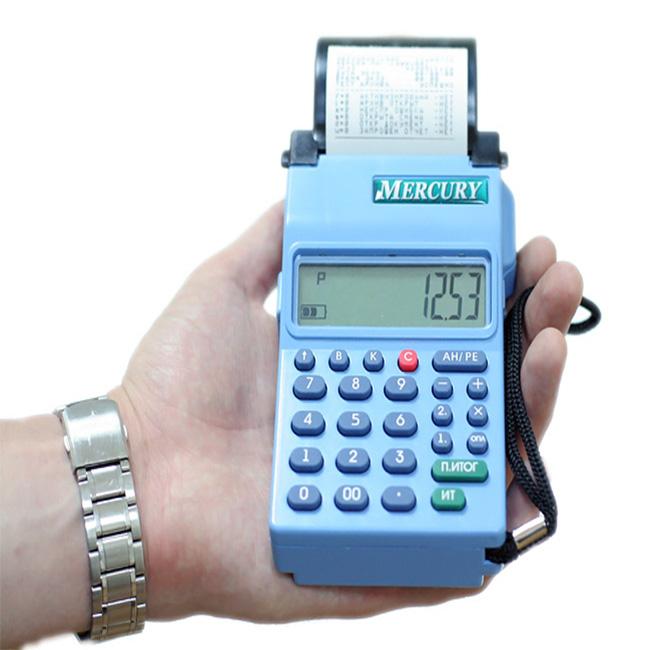 Чекопечатающая машина Меркурий-180К