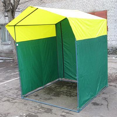 Палатка торговая, разборная «Домик» 2.0 х 2,0 (оцинкованная труба D25мм)