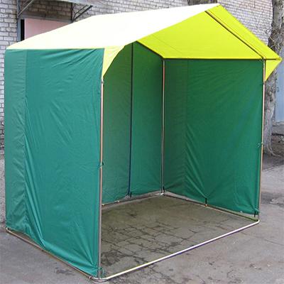 Палатка торговая, разборная «Домик» 3.0 х 2,0 (оцинкованная труба D25мм)