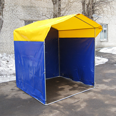 Палатка торговая, разборная «Домик» 3,0 х 2,0 (оцинкованная труба D25мм), Тент ПВХ