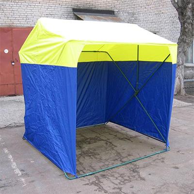 Палатка торговая, разборная «Кабриолет» 1,5 x 1,5 м
