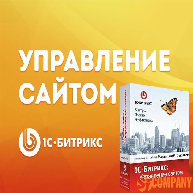1С Битрикс Управление сайтом - Большой Бизнес