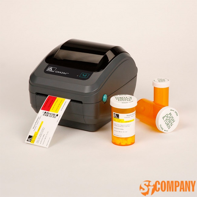 Термо и термотрансферный принтер Zebra GX420d