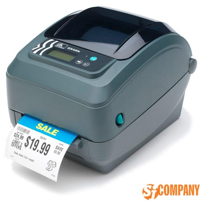 Термо и термотрансферный принтер Zebra GX420t