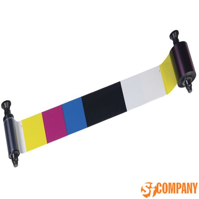 Полноцветная лента Zebra для принтеров i-серии (YMCKO)