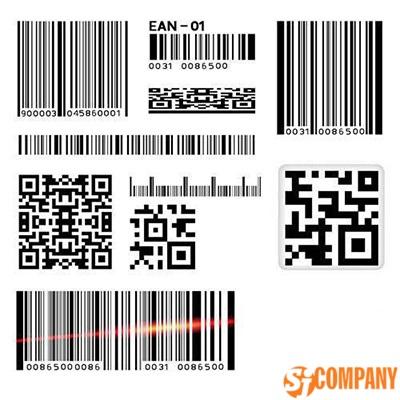 Этикетки с QR-кодом и штрих-кодом