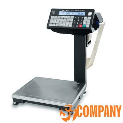 Печатающие фасовочные весы с устройством подмотки ленты ВПМ-Ф1