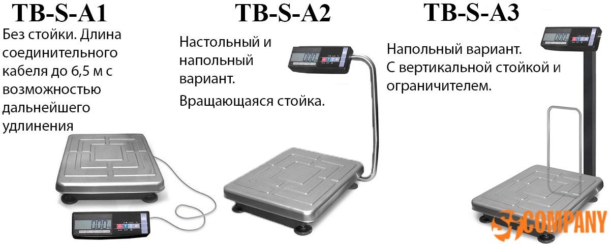 Товарные весы TB-S от производителя  Масса-К