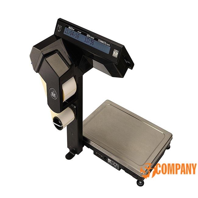 Фасовочные весы с печатью этикеток ВПМ Ф1