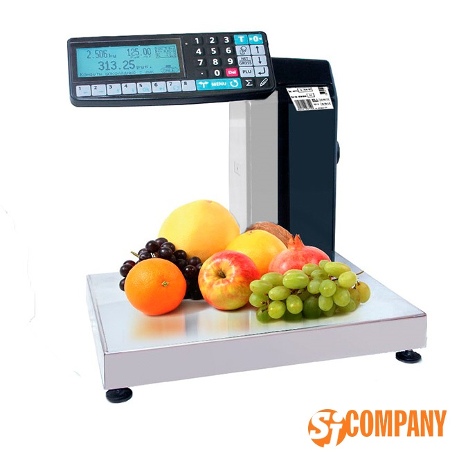 Торговые печатающие весы-регистраторы MK-R2P10 с отделительной пластиной