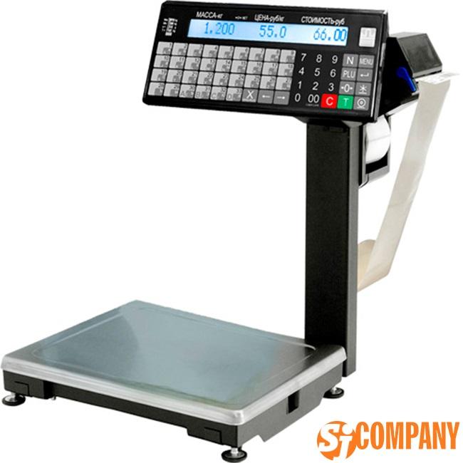 Весы с печатью этикеток ВПМ 15.2 Т1