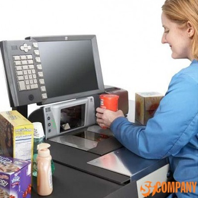 Биоптический сканер штрих-кода