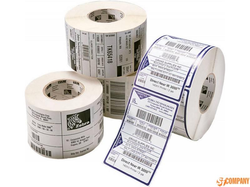 Круглые бумажные этикетки