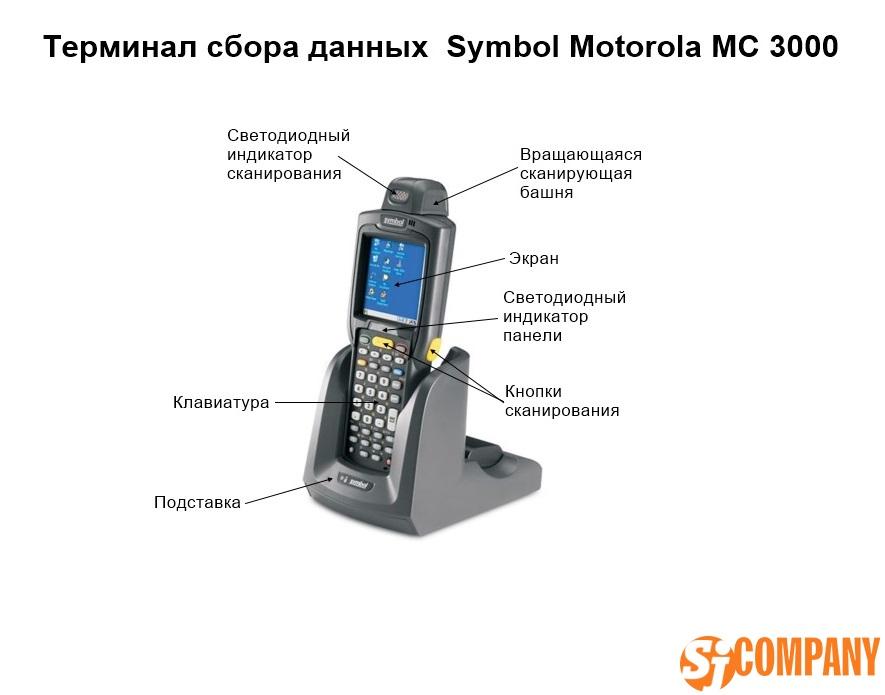 Терминал сбора данных от Symbol Motorola MC 3000